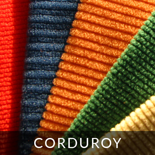 Finishing polar fleece: corduroy